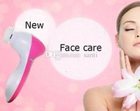 Wholesale New Arrive in1 Multifunction Electric Face Facial Cleansing Brush Spa Skin Care Massage