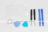 Wholesale 7 in Screwdriver Sucker Pry Repair Opening Tool Kit Set For iPhone S4G For iPhone S5G UP Free shippig