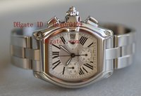 Wholesale Luxury New Mens XL Chronograph Automatic Stainless Steel Watch W62019X6 Mens Watch Men s Watches