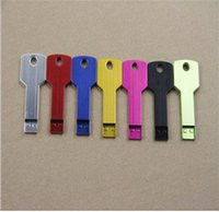 flash drive 8gb key - 30 New Metal High Quality Key Design real capacity GB GB GB GB GB USB Flash Memory Pen Drive Stick Thumb