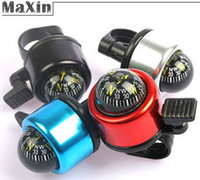 Wholesale 4cm MINI Aluminum Case Bicycle Thumb Ringing Bells for mm Bike Handlebar Bell Adult Kids Cycling Accessories