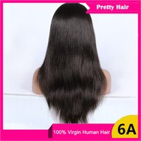 banking products sales - Rosa wig products Indian Brazilian human hair Straight Full lace wig Sales lace front wig with baby hair for black women