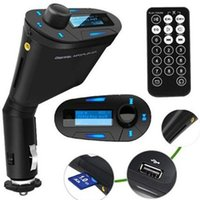 Wholesale Car Audio Wireless FM Transmitter LCD USB Remote Control MP3 Player