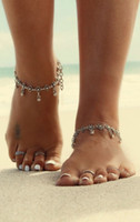 ball flower antiques - Gypsy Antique Silver Turkish Flower Ball Anklet Ankle Bracelet Beach Foot Jewelry Ethnic Tribal Festival