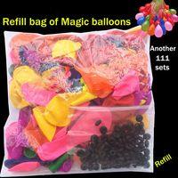 Pearl magic set - Cheap Bunch Balloons Magic water balloons of refill bags balloons Seals o rings set for Bunch balloons kit reuse bag balloons