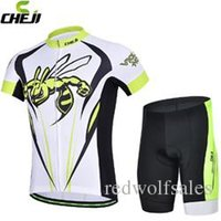 Wholesale New Cheji cycling jerseys Sets cycling clothes Bike Bicycle Clothing Granville cloth for man Short sleeve jersey S to XL