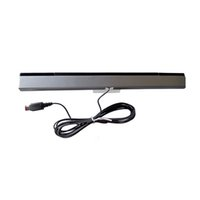 Wholesale Wired Remote Motion Sensor Bar Infrared Ray IR Inductor for Nintendo Wii WiiU New
