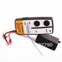Wholesale 100 quality and Brand new Wireless Cordless Remote Control Switch for electric capstan V order lt no track