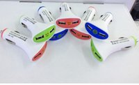 Bluetooth Headset adapter fan - Dual USB Port fan shaped Smile Face W A Universal Adapter For iphone plus Samsung Galaxy s6