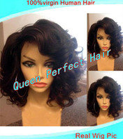 silk top full lace wigs - Stock Fast shipping Natural Scalp color Peruvian virgin human hair silk top full lace wigs front lace wigs with straps for black women