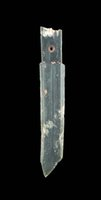 Wholesale Late Shang Dynasty Dagger axe ge Jade Natural material Top Collection With appraisal certificate