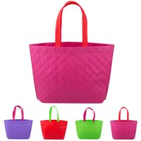 best reusable shopping bags - Best Selling Non Woven Shopping Bag Eco friendly Reusable Handbag Advertising Gift Bag Candy Color Grocery Bags
