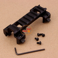 018 aluminum scope mounts - Hunting Military Tactical MP5 G3 GSG5 GSG A5 Claw Rail Scope Sight Mount Aluminum