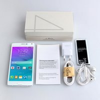 Wholesale Perfect Note4 MTK6572 Android Dual core inch Smart Phone ROM G RAM G IPS HD Screen Metal Side Health G Cellphone