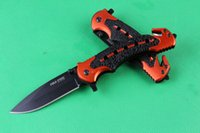 Cheap NEW 2015 Cold Steel 216 Tactical knives folding knife 7Cr17 57HRC camping hunting tools free shipping