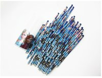Wholesale 2015 Fashion pencils Office School children stationery frozen pencil Wood Pencils Baby Girl Gifts school supplies stationary R00402
