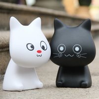 bedside lamp sale - Hot sale Led lights Cute animal meow star who led rechargeable lamp creative cartoon office student study bedroom bedside eye