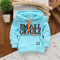 Wholesale Retail New Cotton Baby Children s clothing Outerwear Coats Hot Boys Girls Hoodies Tshirt Blouse Printing Letters T88