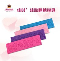 Wholesale Hot Cake Molds Baking Cake Fondant Butterfly Pattern Dessert Stamp DIY Pastry Pattern Make Tools Creative Kitchenware Multicolor Cake Tools
