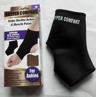 Wholesale 600pcs LJJC2655 Copper Fiber Comfort Ankle Support Protector Band Elastic Brace Ankle Protector Sports Safety Sock Stretched Ankle Support