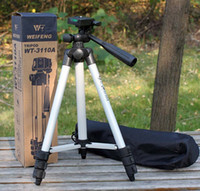 best professional tripod - Newest Arrival PRO FANCIER WT WT Aluminium CAMERA TIRPOD WITH BAG camera tripods Best Offer
