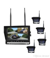 night view - IP66 Waterproof Good Night Vision Car Rear View Cameras Systems with Ghz Digital Wireless Monitor and Ghz Digital Wireless Camera