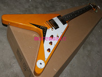Wholesale HOT new Newest Custom VOS Flying V Electric Guitar Wooden From China