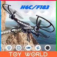 Cheap JJRC H8C RC Quadcopter with Camera HD 2.0MP Remote Control Helicopter CF Mode UFO Big Drone DFD F183 & X5C-1 H107C U818A X6