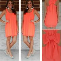 Wholesale Summer dress summer style vestido de festa casual sundress women dress female plus size women clothing beach dress chiffon