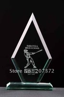 crystal glass award - glass award glass promotional gift crystal decoration crystal business gift by DHL or EMS