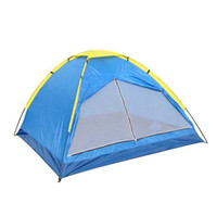 Wholesale 2015 People Outdoor Camping Party Tent For Hunting Fishing Shelter Tent W Fiber Glass Rod cm