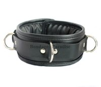 Wholesale Bondage Bound padded Collars novelties PVC Restraint Sex Products For Couple