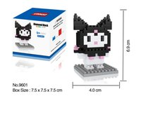 bb kitty - HSANHE diamond Brick cm box hello kitty COS series styles DIY Building blocks Toys BB Kids Gifts