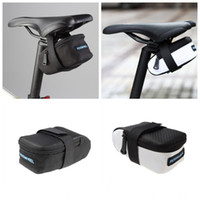 Wholesale ROSWHEEL Fixed Gear Fixie Road Bike Bicycle MTB Saddle Back Seat Seatpost Cycling Tail Pouch Package Bag White Black