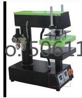 Wholesale New Small quot X8 quot Pneumatic Auto Heat Press Transfer Machine for Sticker Label CE