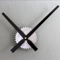 Wholesale Retro Gear Wall Clock Big DIY Clock Mechanism quot Hands Movement Home Decor