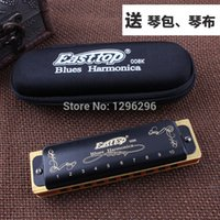 Wholesale Easttop Bruce diatonic the king of the hole harmonica T008k cost effective