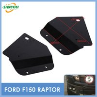 Wholesale 2014 New F150 Raptor Brackets Accessories use for Fog Lamp Fog lights LED Headlights for Ford