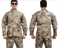 bdu coat - Fall ACU camouflage suit Combat ACU Uniform military uniform bdu hunting suit Wargame COAT PANTS