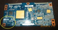Wholesale freeshipping T370HW02 V5 CTRL BD A63 C FOR AUO LCD Controller T con Board GOOD