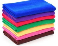 auto cleaning supplies - 500pcs CM Microfiber car cleaning cloth wash towel products dust tools car washer auto supplies car accessories