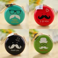 american mini storage - 24 Latest Women s Storage Bag Fashion Accessories Creative High Quality Tinplate Cartoon Lovely Beard Roundness Mini Coin Purse