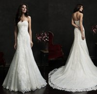 A-Line Reference Images 2016 Spring Summer Elegant Amelia Sposa Lace Beach 2015 Wedding Dresses With Sweetheart Sleeveless Bridal Wedding Gown Modest Backless Wedding Party Dresses
