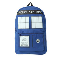 Wholesale Dr Who Tardis Backpack Doctor Who Tardis bag Doctor Who bag backpack Good quality In stock