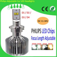 Wholesale H4 H8 H10 D1 D2 D3 D4 W Replacement Car Headlights auto LED headlight lm bulb With Competitive Price
