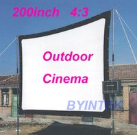 Wholesale Matte White Soft fabric Home Theater inch Projection HD Video Projector Simple Cinema Screen with holes