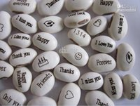 Wholesale Magic Bean Seeds Gift Plant Growing Message Word Green Home Decoration