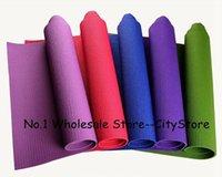 Wholesale 2014 hot sale high quality pvc yoga mat eco friendly pvc yoga mat hot for beginners