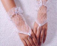 girl white gloves - Fashion White Sheer Lace Girl Wedding Dress Finger Gloves Child Flower Gown Ball Glove Kid Girls Accessories Black Girls Finger Gloves Cheap