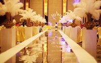 Wholesale Emmani inch Ostrich Feather Plumes OSTRICH FEATHER WHITE for Wedding centerpiece decor party supply decor
